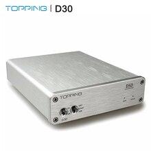 Đứng Đầu D30 Bộ Giải Mã Âm Thanh USB Đồng Trục Quang Có 24bit/192 KHz S/PDIF USB DAC Hỗ Trợ DSD64 Và DSD128