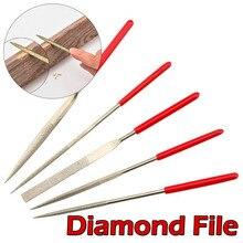 Mini Metal Needle Files Set Wood Rasp Files Needle Carving Tools Wood Carving Craft Tool Glass Stone Wood Craft Hand Tool