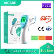 Aicare infravermelho testa corpo digital termômetro sem contato termômetro temperatura médica febre medida ferramenta para adultos do bebê