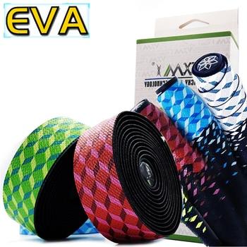 VXM 3 צבעים אופניים כידון קלטת לדעוך כוכב מירוץ אופני בר קלטת רכיבה על כביש אופני עמיד למים EVA קלטת לעטוף