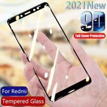 Защитное стекло 9D для Xiaomi Redmi 5 5A 5 Plus 6 6A 7 7A 4A 4X Redmi Note 4 4X 5 5A, закаленное стекло, защитная пленка