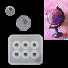 DIY Globe Ball Bracket Mold Cosmic Ball Resin Casting Mold Jewelry Making Tools