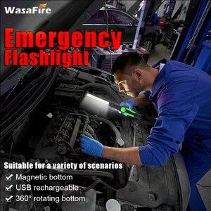 Image 5 - 5 Cái/lốc Từ Đèn Led USB Sạc COB Đèn Pin Đèn Pin Đa Năng Đèn Làm Việc COB LED Cầm Tay Ánh Cho Xe Sửa Chữa