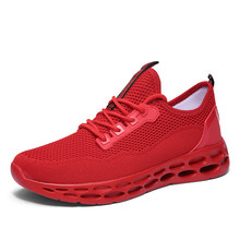 2020 Fashion Casual Shoes Men Light Breathable Sneakers Mesh Lace Up Male Comfortable Outdoor Sports Running Footwear Size 47(China)