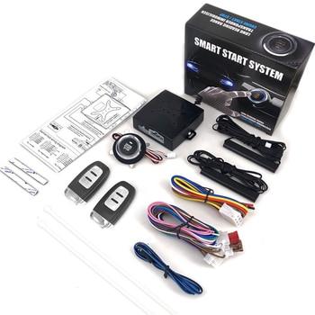 12V Car Alarm Systems Car Remote Central Door Lock Keyless System Auto Car SUV Anti-theft Keyless Entry Starter Auto Accessories