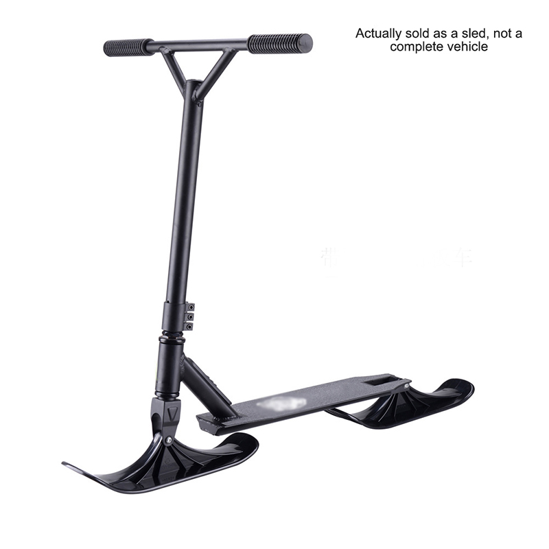 Skateboard Sled Skiing Childrens Scooters Sled Snowboard Riding Scooter Snow Scooters Winter Riding Universal Replacement Parts JIEGEGE