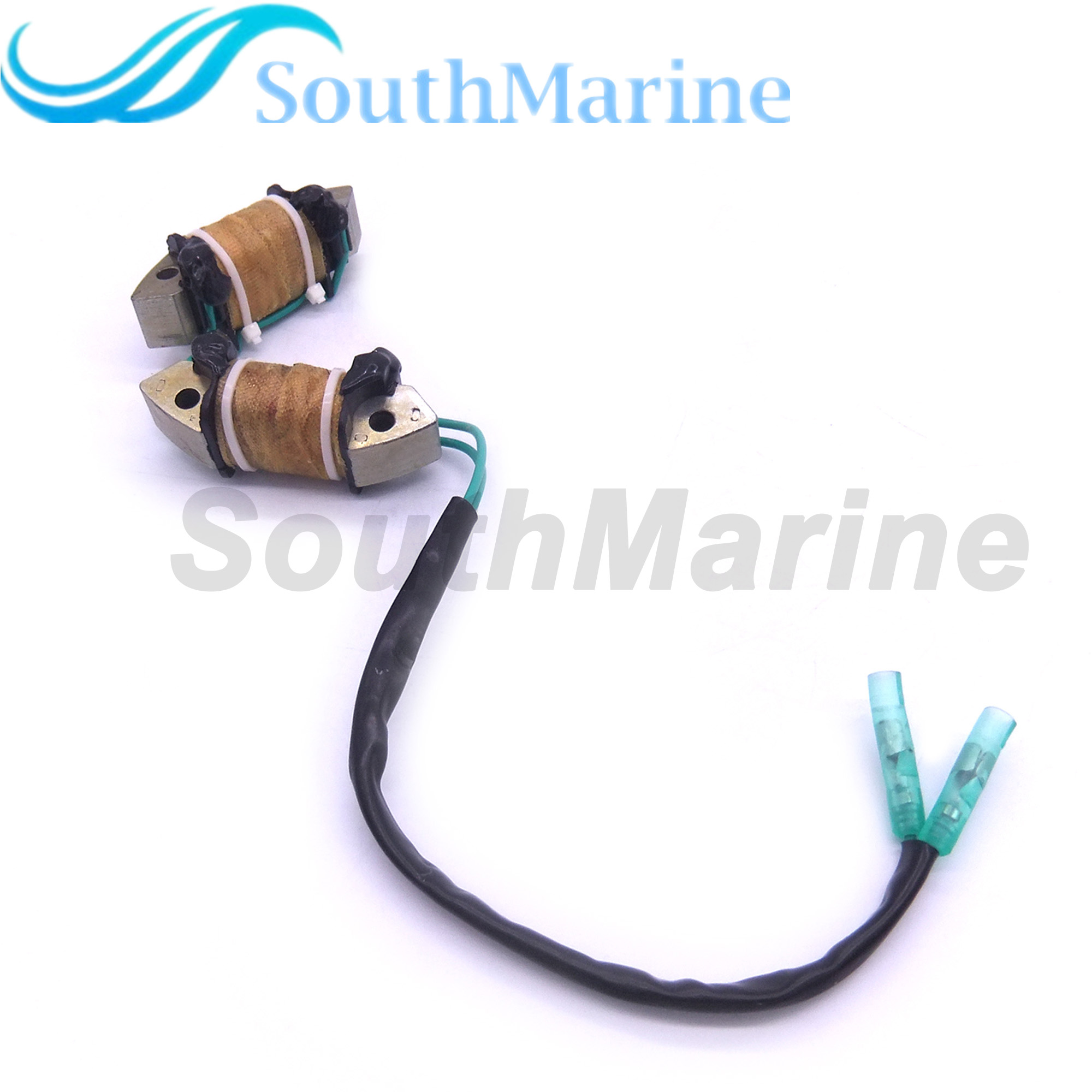 Outboard Engine 68T-85533-10 Lighting Coil Assy For Yamaha 4-stroke  8HP 9.9HP Boat Motor