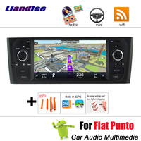 Car CD DVD Multimedia Player For Fiat Punto evo 1999~2010 Radio Android Accessories Navigtion Screen System Stereo audio