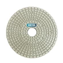 цена на 100mm Wet Polishing 4 inch 3 Step Diamond Polishing Pads For Marble And Granite