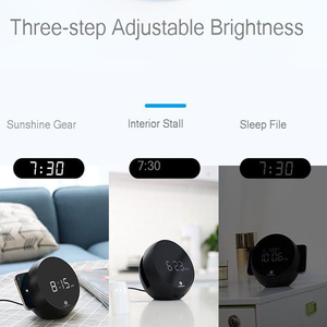 Image 2 - Vogek 10w Drahtlose Ladegerät Elektronische Uhr Wecker Handy Schnelle Lade Drahtlose Lade für Huawei Samsung