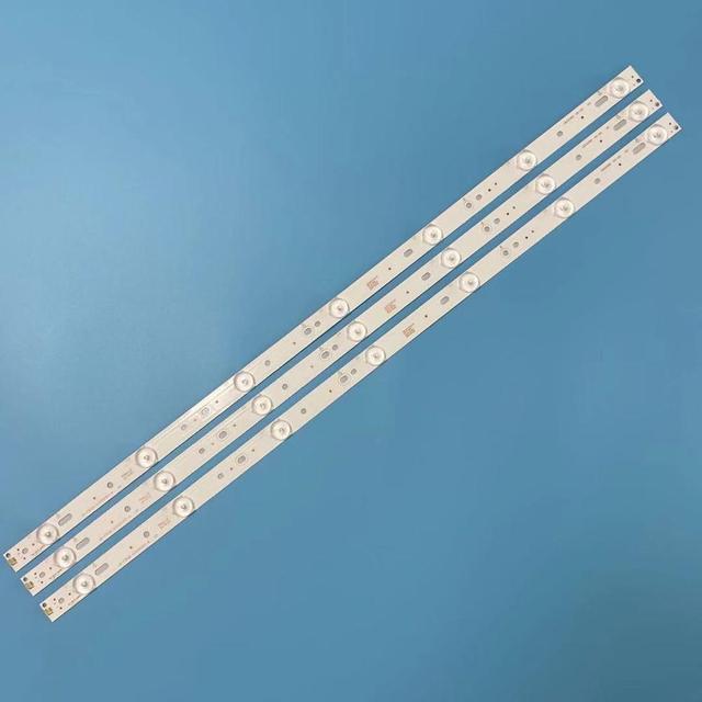 "3pcs LED Strips 7leds GJ 2K15 D2P5 315 D307 V1 LBM320P0701 FC 2 for Philip 32"" 32PHF5755/T3 TPT315B5 32PFH4200 32PFT5500 new"