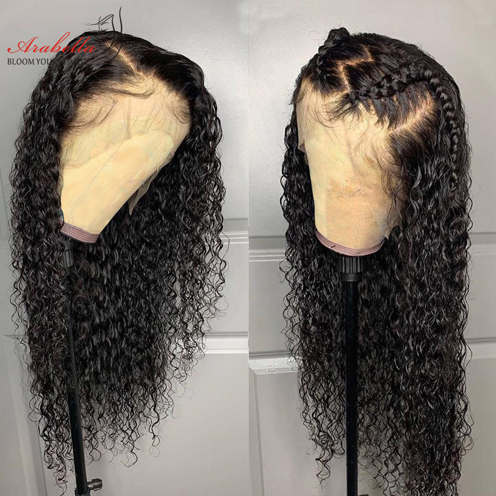 Deep Wave Wig 100%   Lace Front  Wigs Pre Plucked With Baby Hair  Arabella Deep Wave Wig 2