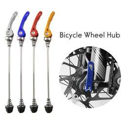 1 par de cubo de roda de bicicleta, espetos, liberação rápida, eixo qr 145/185mm, multi cores, útil, ultraleve para bicicleta de estrada mtb