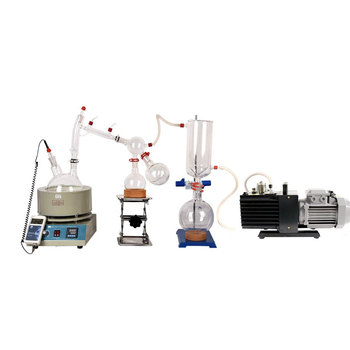 Lab Equipment  Small Short Path Distillation Equipment 5L Short Path Distillation Includes Vacuum Pumps kit usa hot scale small short path distillation equipment 5l short path distillation with stirring heating mantle include cold trap