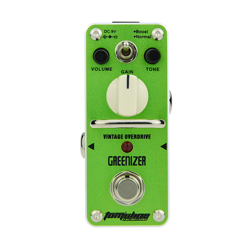 AROMA GRENNIZER Vintage Tube-like Overdrive Pedal Guitar Effect Based on Legendary Tube Screamer Warm Natural Sound Guitar Parts image