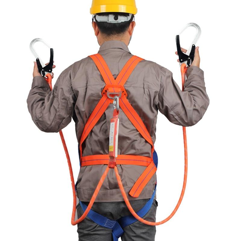 High Altitude Safety Belt Five-point Full Body Electrician Homework Safety Belt Outdoor Construction Wear-Resistant Belt Nationa