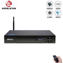 Dahua панель Hi3521A 16 каналов 1080N H.265+ 16CH/8CH 6 в 1 Wifi Гибридный коаксиальный XVI NVR CVI TVi AHD CCTV DVR