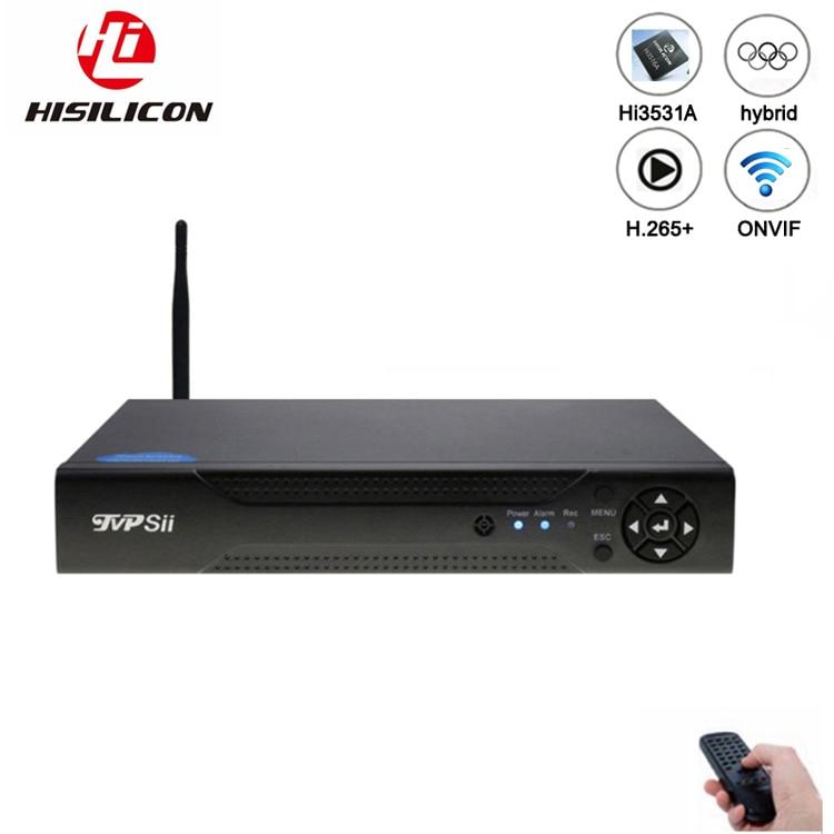 Dahua Panel Hi3521A 16 Channel 1080N H.265+ 16CH/8CH 6 In 1 Wifi Hybrid Coaxial XVI NVR CVI TVi AHD CCTV DVR FreeShipping