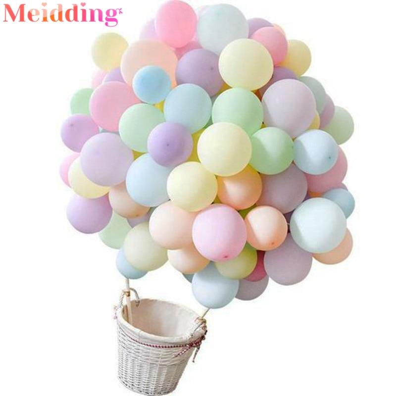 50 шт 10 дюймов Macaron баллоны пастельные воздушные шарики в виде леденцов День Рождения украшения детский душ красочные воздушные шары свадебные арки баллоны Воздушные шары и аксессуары      АлиЭкспресс