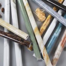 Wallpaper Marble-Pattern Waterproof Cabinet Furniture Refurbished Adhesive Kitchen Thickened