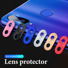 Camera Lens Protector For Xiaomi Redmi Note 7 Camera Metal Ring Case Cover Bumper on Redmi Note 7 Pro Mobile Phone Accessories(China)