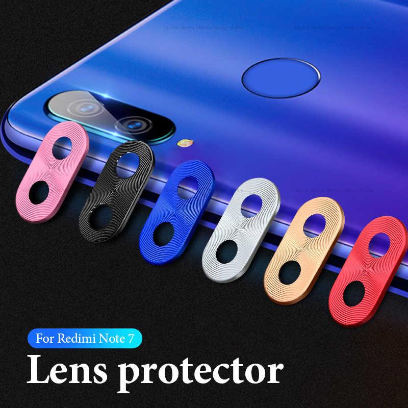 حامي عدسة الكاميرا ل شاومي Redmi نوت 7 كاميرا حلقة معدنية غطاء حماية الوفير على Redmi نوت 7 برو ملحقات الهاتف المحمول
