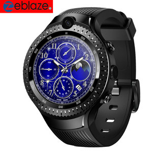 Zeblaze thor 4 Doble vibe 3 pro 5 reloj inteligente hombres SIM 4G smartwatch Cámara Dual GPS GLONASS Monitor de ritmo cardíaco respuesta de línea a