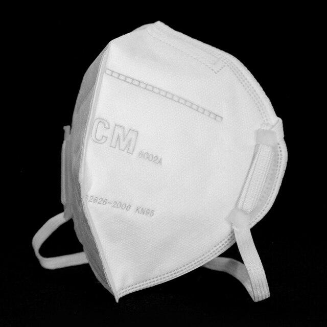 10PCS N95 Mask Antivirus Flu Anti-flog Infection Facial Masks Reusable Protection Mouth Mask Cover Pm2.5 Dust Dustproof Masks