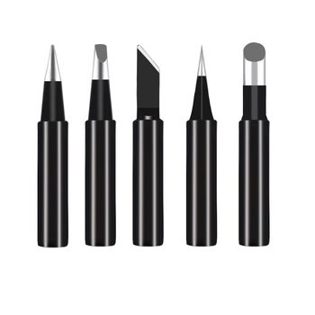 Lead-free soldering solder Iron tips tip 900M-T for hakko 933.376.907.913.951,898D,852D+ 852D soldering rework station 10PCS/SET new 10 tip set tips soldering tip set for soldering iron 900 t i bk 1 6d 2 4d 3 0d 2c 3c 4c new
