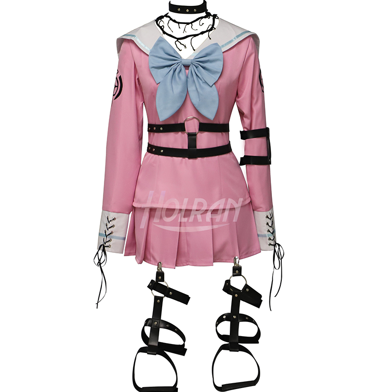Danganronpa V3 tuer harmonie Iruma Miu Cosplay Costume accessoires Anime jeu femme filles fête robe école uniforme tenue