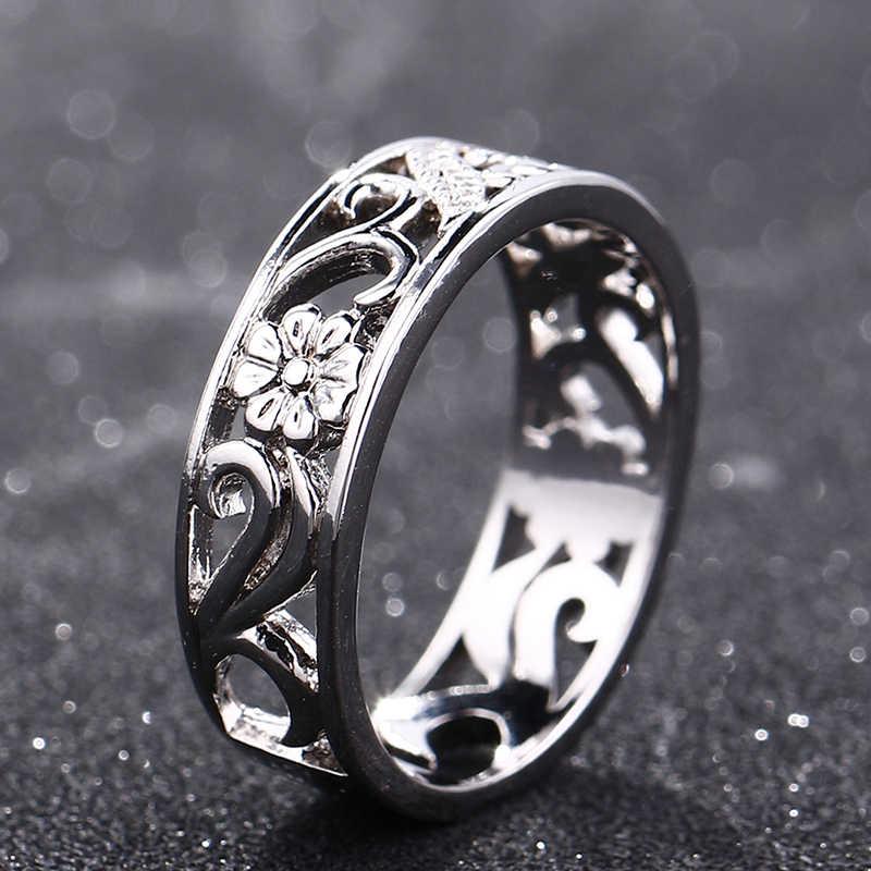 Bague Ringen TOP ยี่ห้อ 925 เงินเครื่องประดับแหวนครบรอบวงกลมคู่แหวนขนาด 6-10 ขายส่ง Fine เครื่องประดับของขวัญ