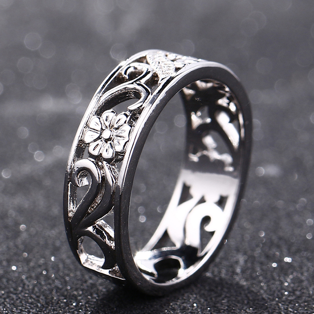 Bague Ringen Top Brand 925 Silver Jewelry Rings For Women Anniversary Circle Couple Ring Size 6-10 Wholesale Fine Jewlery Gifts 3