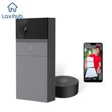 Дверной звонок с камерой wi fi 1080p умный беспроводной домофон