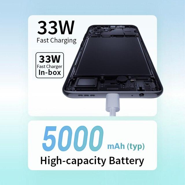 "Global Version Xiaomi Redmi Note 10S Smartphone 6.43"" AMOLED DotDisplay 64MP Quad Camera 5000mAh Helio G95 33W NO NFC 4"