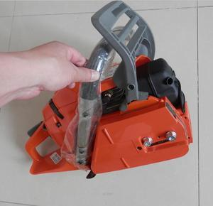 """Image 2 - 365 GASOLINE CHAINSAW W/ 18"""" GUIDE BAR & CHAIN PITCH 3/8 GAUGE 058 68 DRIVE LINKS 65CC 2 CYCLE HORSE POWER STRONG PETROL SAW"""