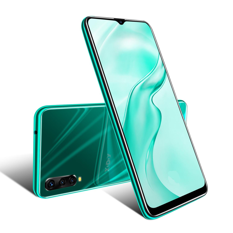 XGODY Original Smartphone android 9,0 de 6,5 pulgadas 199 Pantalla Completa MTK6580 Quad Core 2GB 16GB teléfono celular teléfono móvil 3G de 2700mAh