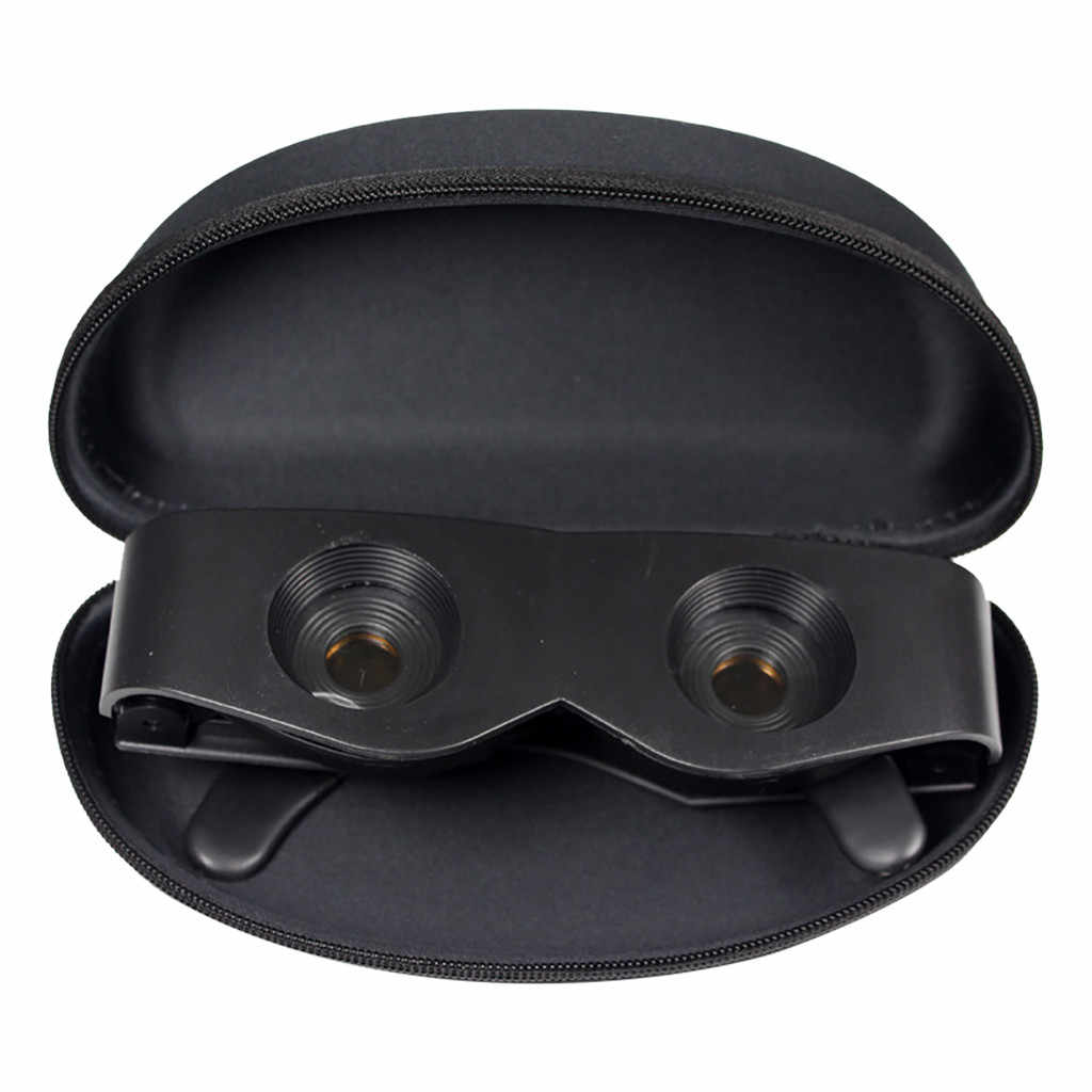 مناظير الصيد عدسة مكبرة المحمولة قابل للتعديل في الهواء الطلق نظارات مع نظارات مناسبة لضوء النهار أو ليلة الصيد