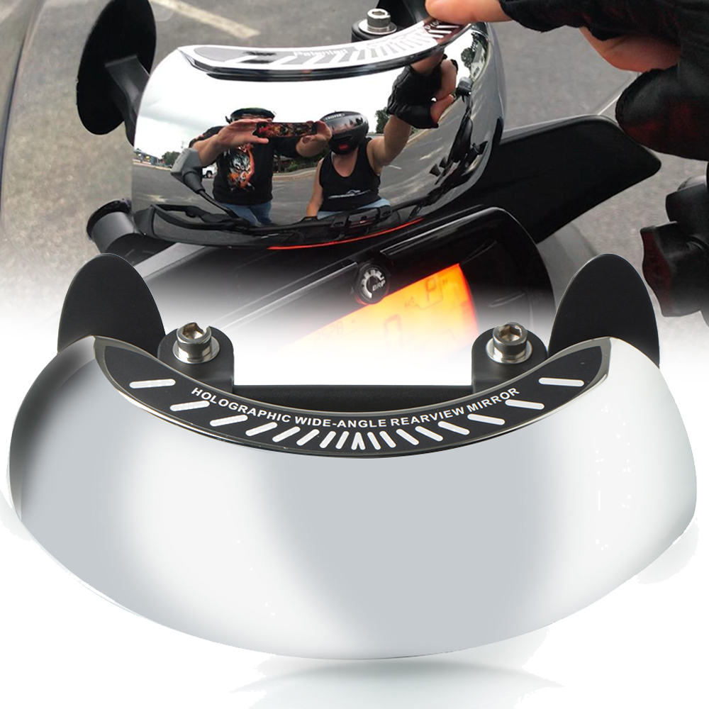 Motorcycle 180 Degree Safety Rear View Mirror Blind Spot Mirrors For Honda CB 650R CBR 650R CB650R CBR650R <font><b>KYMCO</b></font> AK550 <font><b>AK</b></font> <font><b>550</b></font> image