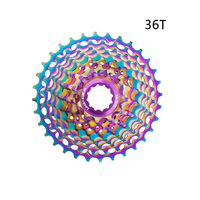 11 Speed Mountain Bicycle Bike Freewheel Chainring Wheel Crank Cassette Tooth Plate Replacement Aluminum Alloy 28T 32T 34T 36T