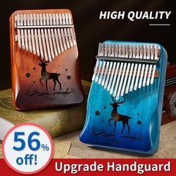 kalimba 17 key Thumb Piano Mahogany Wooden mbira musical instrumentos musicales 30 key instruments calimba machine 21 keys