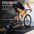 Thinkrider X7 умный велосипедный тренажер для MTB шоссейного велосипеда карбоновая рама конструкция встроенный измеритель мощности велосипедные ...