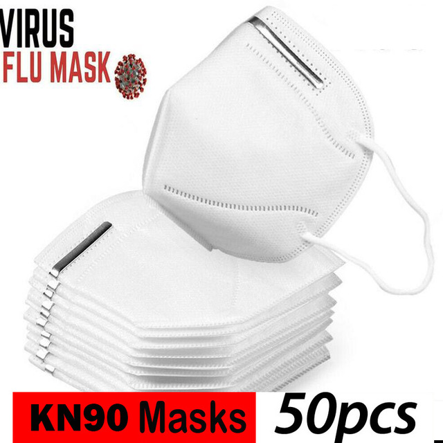 KN95 Mask with Valve Safety Protective Mask PM2.5 N95 Fliter Anti Dust Pollution Earloop Face Mask Flu Respirator as KF94 9502v 2