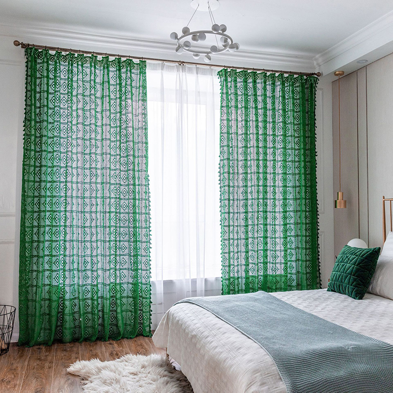 check MRP of thread curtains
