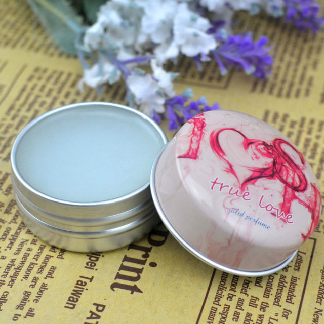 1PC 15g Solid Perfume for Men Women Floral Portable Round Box Solid Perfume Edt  Ept Balm Body Fragrance Skin Care Essential Oil 1