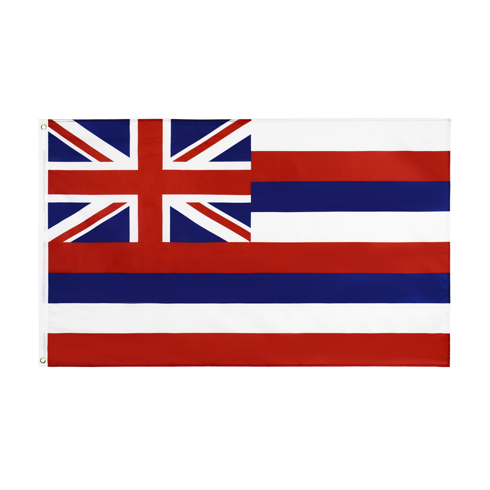 Hanging <font><b>90*150</b></font> CM us usa state hawaii flag For Decoration image