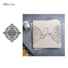 JC Metal Cutting Dies for Scrapbooking Flower Lace Frame Die Cut Card Make Stencil Craft Folder Model Album Background 2019