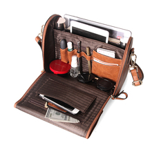 Cobbler Legend 2019 Multifunctional PU Leather Shoulder Bag for Women Organizer Handbag Large Capacity Crossbody Tote Bag