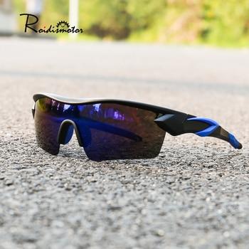Uv400 ciclismo óculos das mulheres dos homens esporte ao ar livre anti-poeira bicicleta de vidro da motocicleta óculos de sol mountain bike oculos ciclismo 1