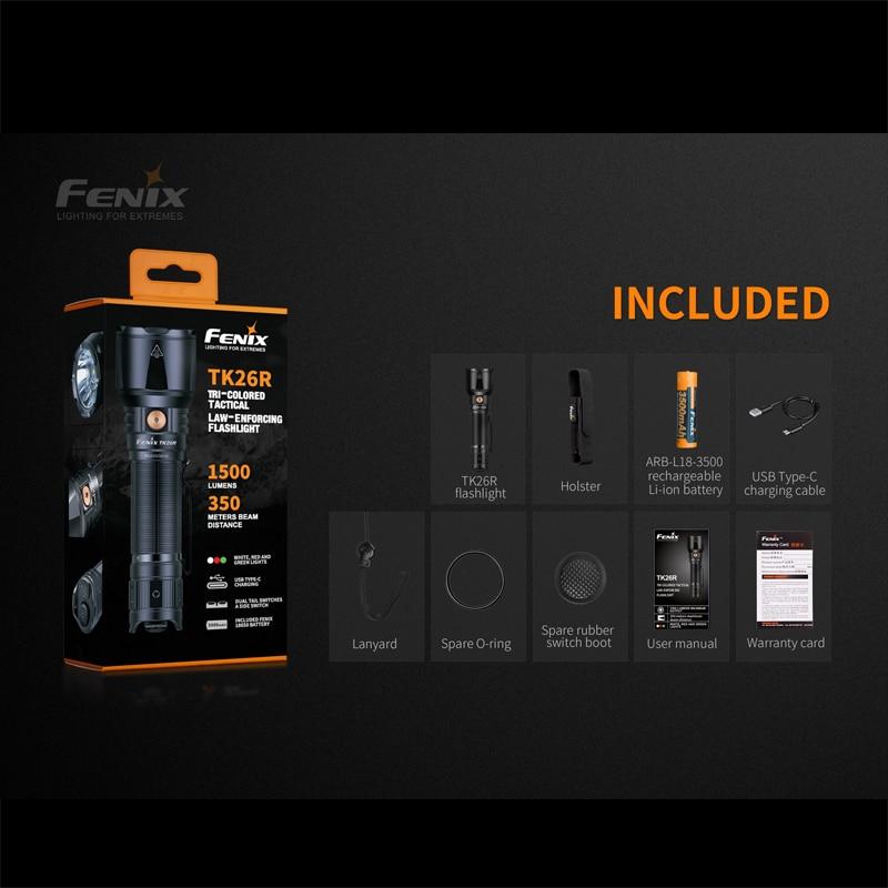 Fenix TK26R Lampe de poche LED