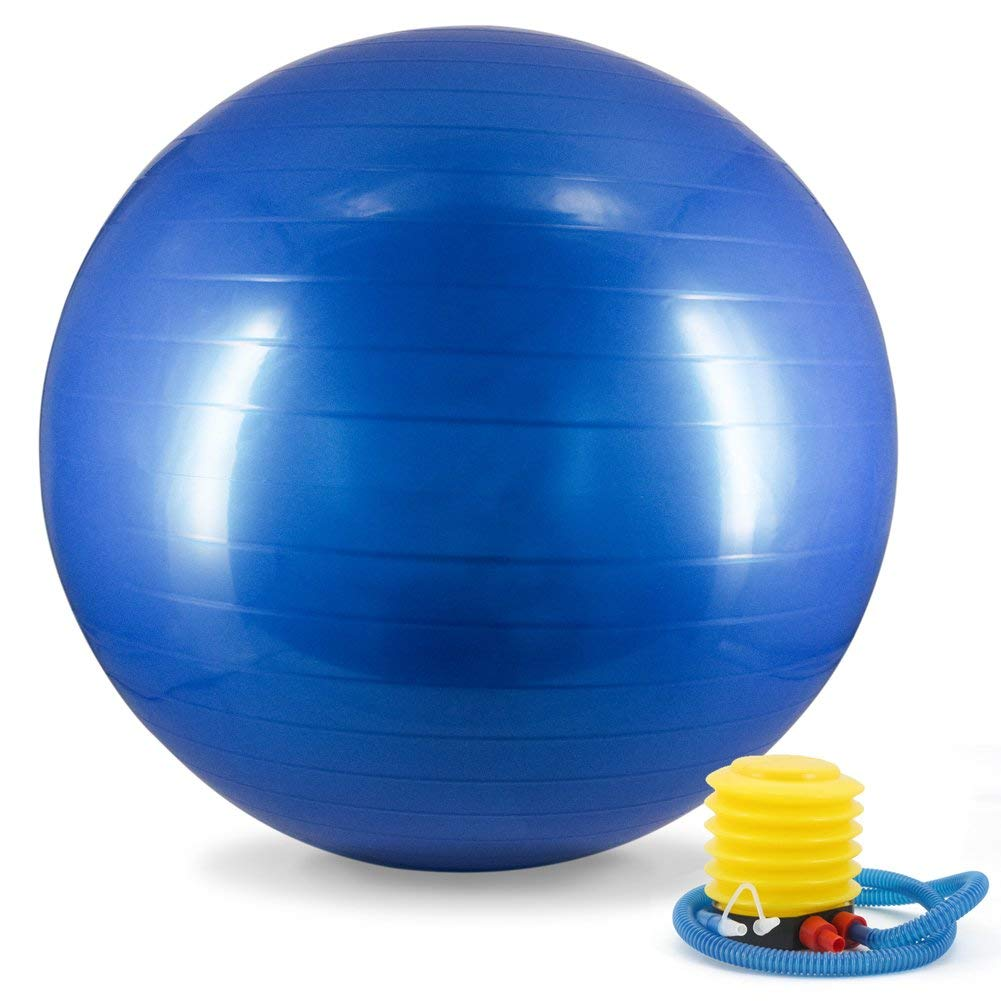 Exercise Ball Fitness Sports Workout Inflatable Bola 95cm Gym